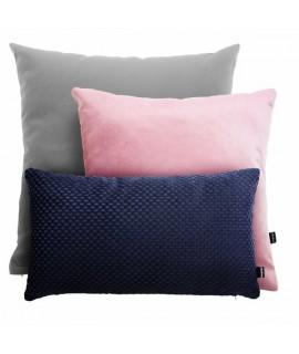 PODUSZKOWCY  Ružovo-modrá kombinácia vankúšov