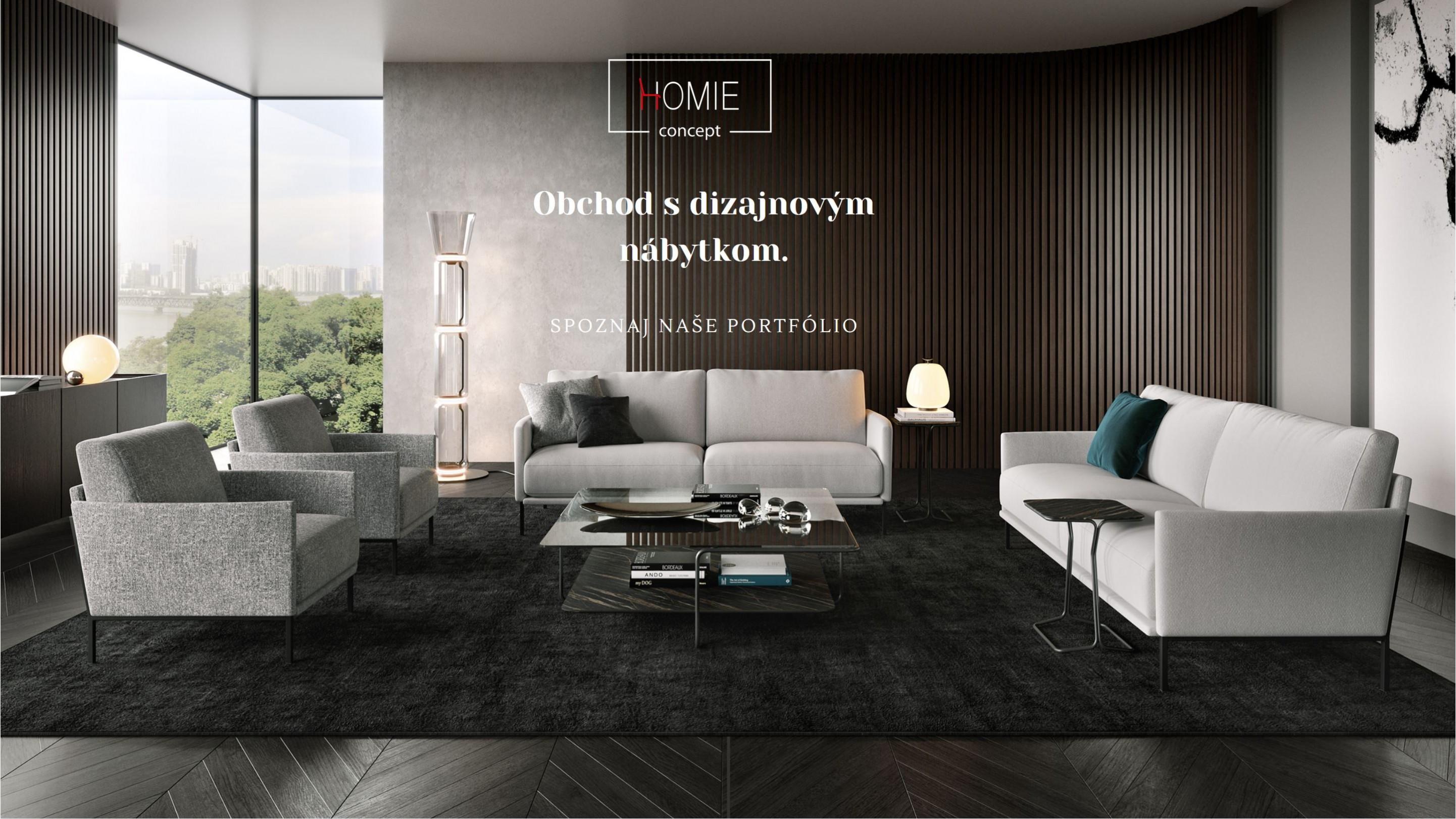 Obchod s dizajnovým nábytkom