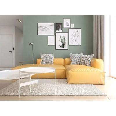 ☝️Úspech tohto interiéru je predurčený jeho jednoduchosťou👏💎👌. Kombinácia moderného nábytku a čistých pastelových farieb. Na tomto vyváženom pozadí dominuje pohovka z našej kolekcie😁CUSHIONS. 😍Táto obývačka spojená s kuchyňou a jedálňou je dôkazom toho, že pastely nemusia byť nevyhnutne prítomné iba v detských izbách🧐. 🏠Dom vlastní mladý pár.👫Obaja sa chceli zbaviť zhonu. Chceli moderný interiér plný mladosti.  V priestore na sedenie zaujíma významné miesto pohovka Coushion, ktorú navrhol Sebastian Marach z Poznaňského štúdia YONO Architecture, autora návrhu interiéru🥰💎👏👌. Ako hovorí, výrazná žltá farba privádza salón do úplne inej úrovne dizajnu.☝️ 🛒Presvedčte sa sami :https://www.homieconcept.sk/index.php…  Viac dizajnového nábytku nájdete na našom webe💻👉https://www.homieconcept.sk/nabytok ______________________________________________________ #homieconcept#dizajnovynabytok#sedacka#interior#design#home#interiordesign#interiorstyle#ostavamdoma#interiorlove#homedesign#homedecor#homestyle#homegoals#living#lifestyle#trends#sofa#architect#3dmodels#coronavirus#bratislava#ostandoma